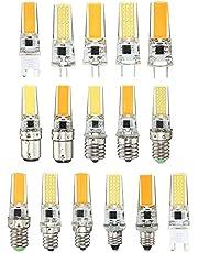 5 stks / partij LED COB G4 G8 E14 lamp lamp dimbaar AC 110V 220V 5W 360 straalhoek Vervang halogeenlampen LED-lamp
