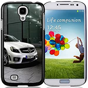 Fashion DIY Custom Designed Samsung Galaxy S4 I9500 Phone Case For Mercedes Benz SL63 AMG White Phone Case Cover