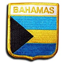 Bahamas - Country Shield Patches