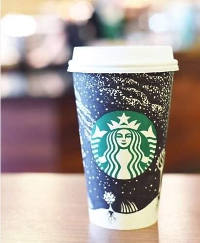 Starbucks Night Sky Reusable Travel Cup to Go Coffee Cup