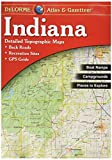 Garmin DeLorme Atlas & Gazetteer Paper Maps- Indiana, AA-001383-000