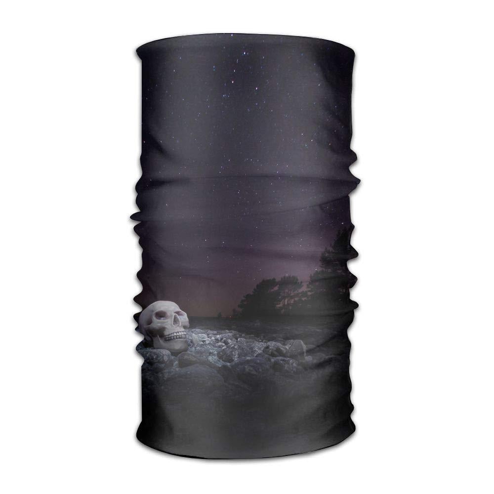 Uosliks Headwear Headband The Galaxy Casual Balaclava Headwear 16-in-1 Multifunctional Head Scarves Technology