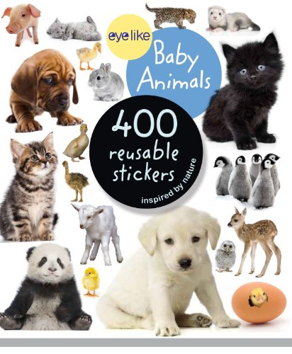 Eyelike Stickers: Baby Animals - Animals Sticker