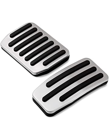 Non Slip Performance Foot Pedal Pads Auto Aluminum Pedal Covers Fit Tesla Model 3 Accessories Set