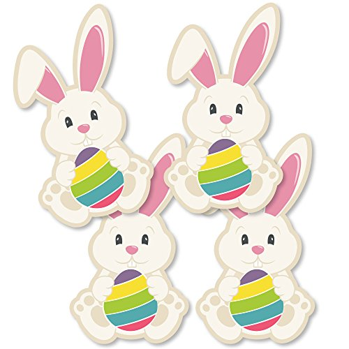 Hippity Hoppity - Bunny Decorations DIY Easter Party Essentials - Set of ()
