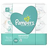 Pampers Sensitive Water Baby Wipes 3X Pop-Top