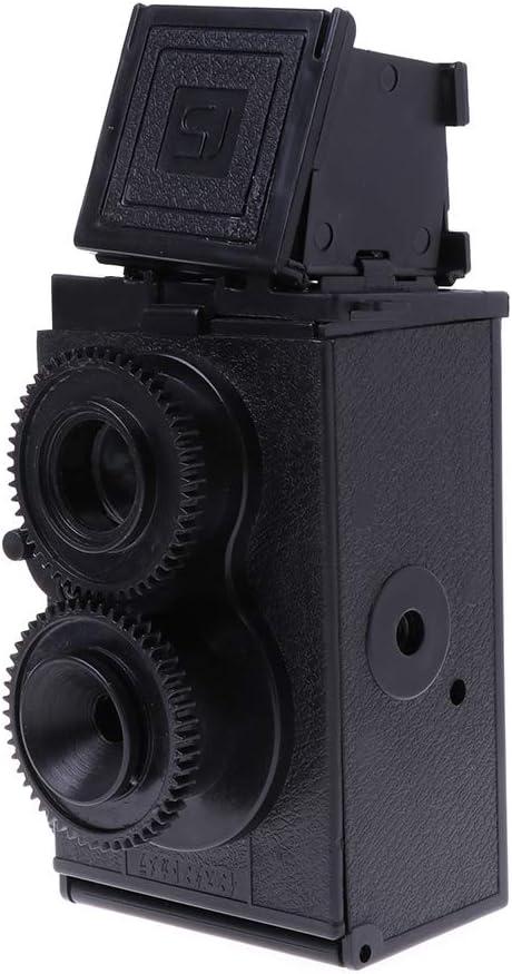 Gszfsm001 LOMO DIY Dual Lens Cámara Reflex Retro Classic TLR 35 mm ...