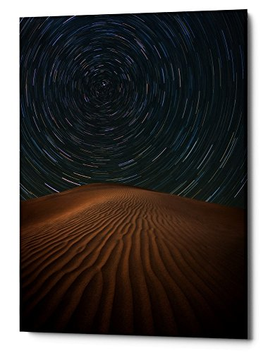 Epic Graffiti Alone on the Dunes by Darren White Giclee Canvas Wall Art, 40'' x 60'' by Epic Graffiti