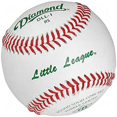 Diamond Dll-1 Little League Leather Baseballs 12 Ball Pack