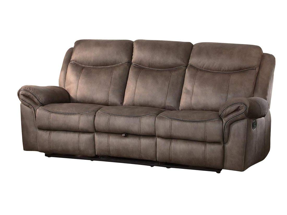 Amazon.com: Apollo Double Reclining Sofa with Center Cup ...