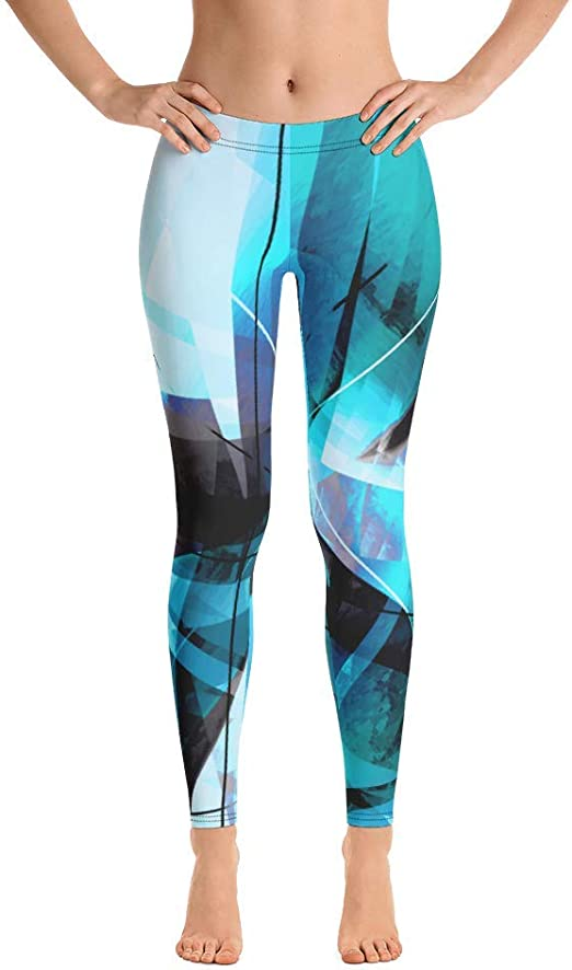 Womens Scuba Diving Vintage Running Workout Hot Pants Pants with Athletic Elastic Waist
