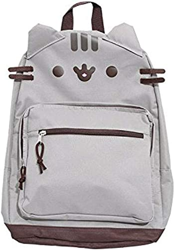 Pusheen Grey Character Face Backpack