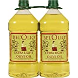 Belolio Twin Pack Extra Light Olive Oil - 2 Liters (4 Liters Total)