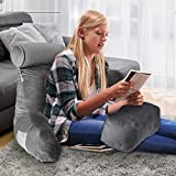 ACWARM HOME Reading Pillow, Bed Rest Pillow with