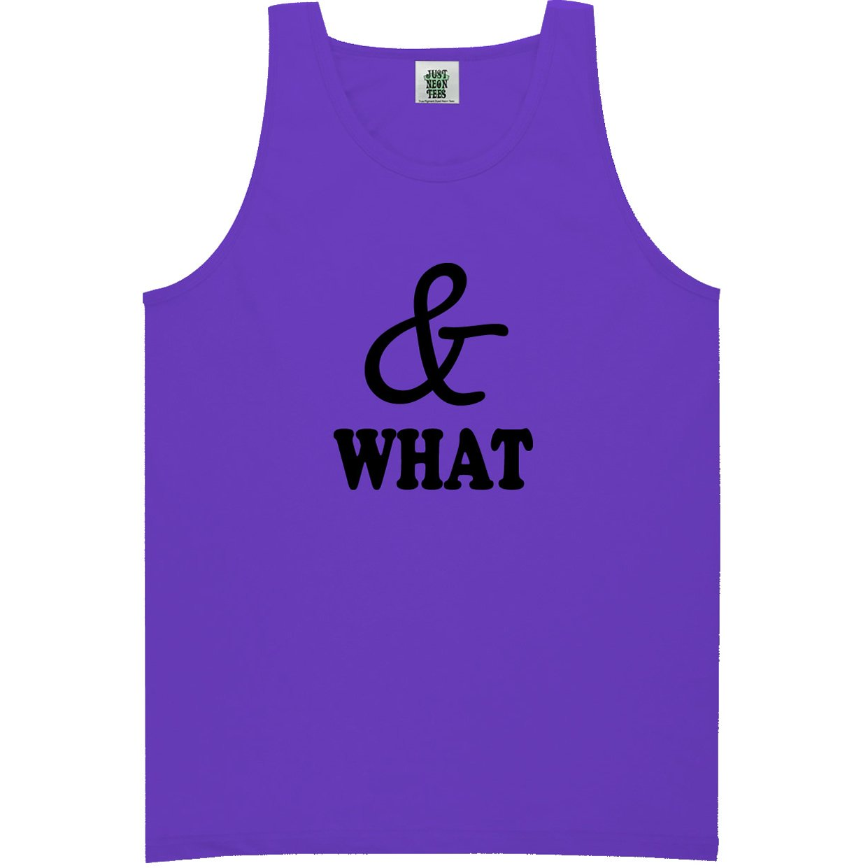 6 Bright Colors ZeroGravitee Youth /& What Bright Neon Tank Top