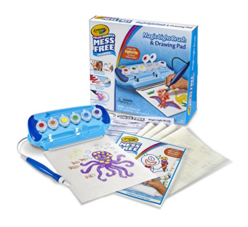Large Product Image of Crayola Color Wonder Magic Light Brush & Drawing Pad, Mess Free Coloring, Ages 3, 4, 5, 6, 7