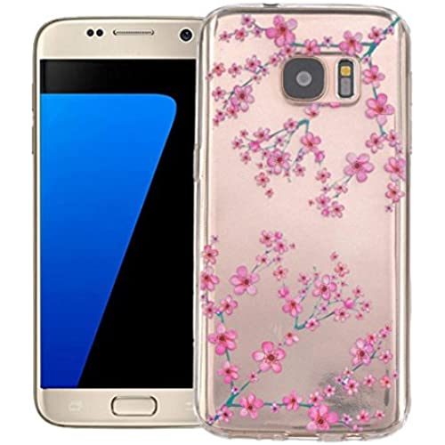 Galaxy S7 Case,LANDFOX -Tower Crystal Rubber Back Plating TPU Soft Case Cover For Samsung Galaxy S7 (#7) Sales