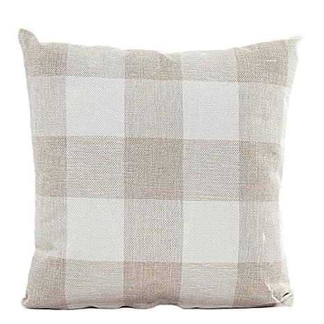 Auied - Funda de cojín para sofá, Cama, decoración del hogar ...