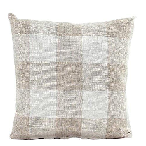 Pillow Case,Han Shi Lattice Sofa Bed Pillowslip Cushion Cove