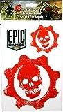Gears of War 3 Car Decals Crimson Omen Set of 3