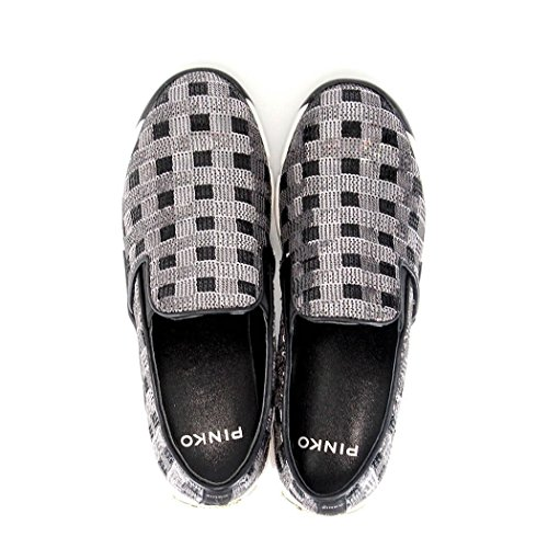 Shine On Slip Donna Scarpe Baby Zzf Pinko 1h208d Silver Argento Sequins1 Sneakers 14zqxf