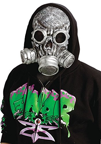 [Biohazard Zombie Gas Mask] (Halloween Costumes With Gas Mask)