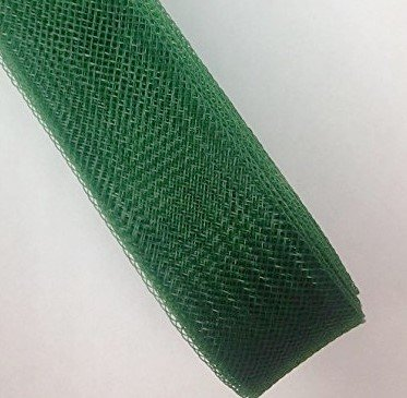 Emerald Horses Green - 2'' Inch Emerald Green Polyester Horsehair Braid selling per Roll/ 30 Yards
