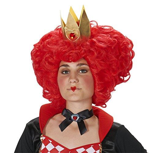 Dream Weavers Costumers Red Heart Queen Adult Wig ()