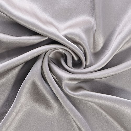 100 Pure Mulberry Silk Pillowcase Standard Size 21 Momme