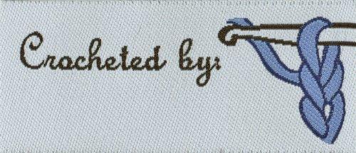 (JHB Woven Labels II-Crocheted By 2/Pkg)