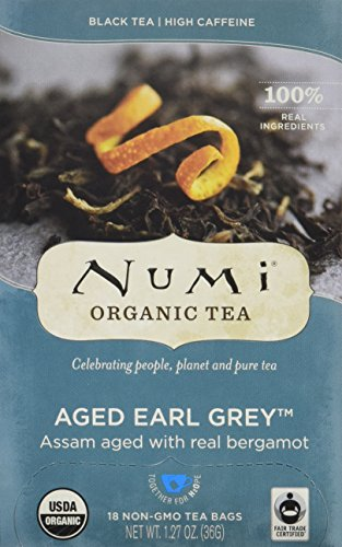 Numi Organic Tea, Black Tea, 18 Count Tea Bags