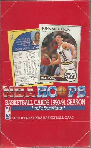 1990-91 NBA Hoops Basketball Cards Series 2 Box