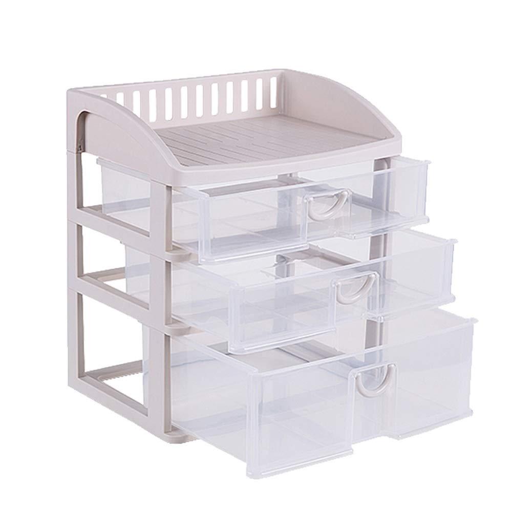 LCNINGSNH Cajonera de Tipo cajón Transparente/Almacenamiento de Material de PP/Caja de clasificación de residuos domésticos multifunción