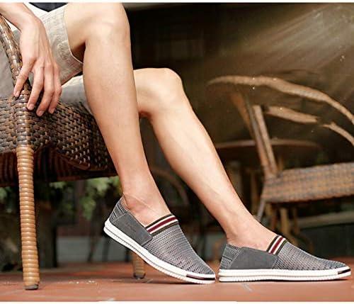 デッキシューズ カジュアル ローファー スリッポン シューズ メンズ ローカット キャンバス フラット 滑り止め 履き脱ぎやすい 通学 海辺 私服 職場用 事務所 通気抜群 蒸れない 夏 布靴 かっこいい
