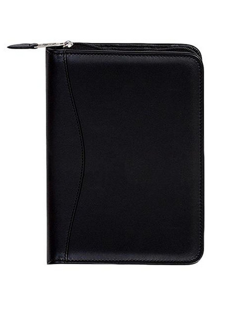 Scully Plonge Leather Zip Weekly Planner (Black) by SCULLY ITALIA (Image #1)