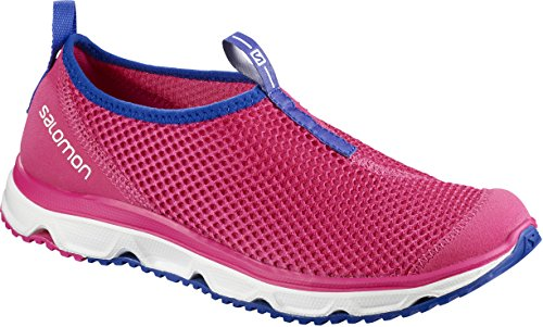 Salomon RX Moc 3.0 W, Zapatillas de Senderismo para Mujer Rosa (Pink Yarrow / White / Surf The Web 000)