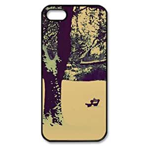 Winter Mood Watercolor style Cover iPhone 5 and 5S Case (Winter Watercolor style Cover iPhone 5 and 5S Case)
