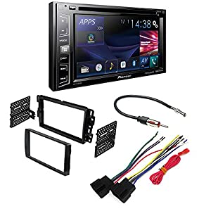 pioneer stereo wiring harness automotive parts online com pioneer avh x2800bs aftermarket car stereo dash installation kit w wiring harness antenna select
