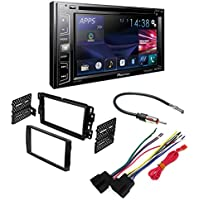 PIONEER AVH-X2800BS AFTERMARKET CAR STEREO DASH INSTALLATION KIT W/ WIRING HARNESS ANTENNA SELECT BUICK CHEVROLET GMC HUMMER PONTIAC SATURN SUZUKI VEHICLES