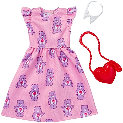 Barbie Care Bear Pink Dress Fashion Pack from Barbie