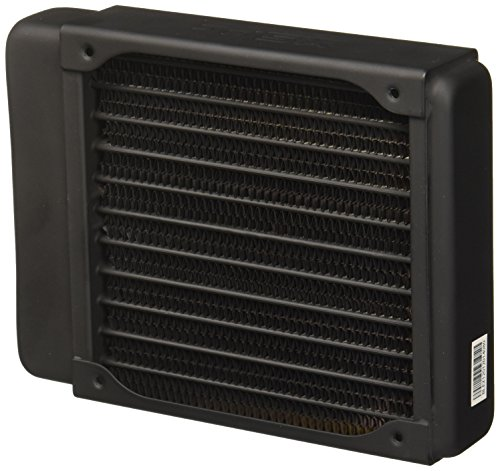 XSPC EX120 Radiator, 120mm x 1, Single Fan, Black