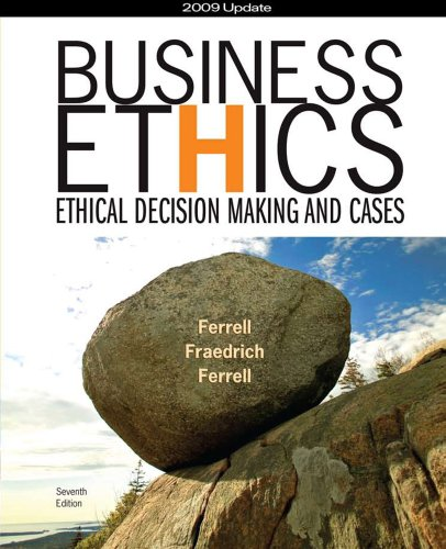 business policy ethical decision making This piece of work explores the ethical dimension in decision making process and factors business ethics applies to the conduct of tax policy, and trade and.