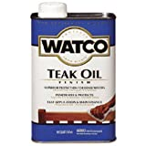 Watco A67141 Teak Oil Finish, Quart