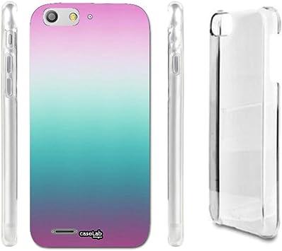 caselabdesigns Hard Back Case Cover Ombre rosa para ZTE Blade V6 ...