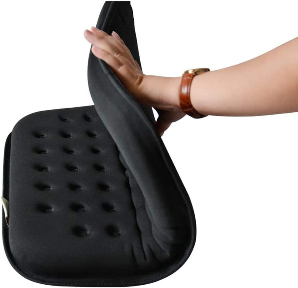 Wheelchair Cushion Cojín médico for Silla de Ruedas Cojín antiescaras Cojín ortopédico de Espuma de Confort Mejorado Cojín de Asiento de Espuma Cojín de Gel Alivio de presión Asiento Transpirable
