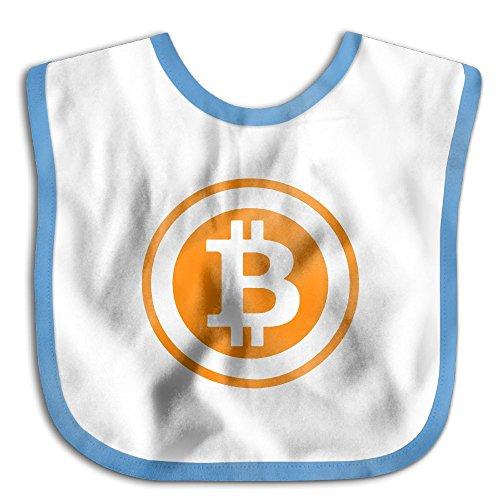 Bitcoin Logo 2017 Infant Baby Boys Girls Skin-friendly Saliva Towel - Usps Prices Canada To