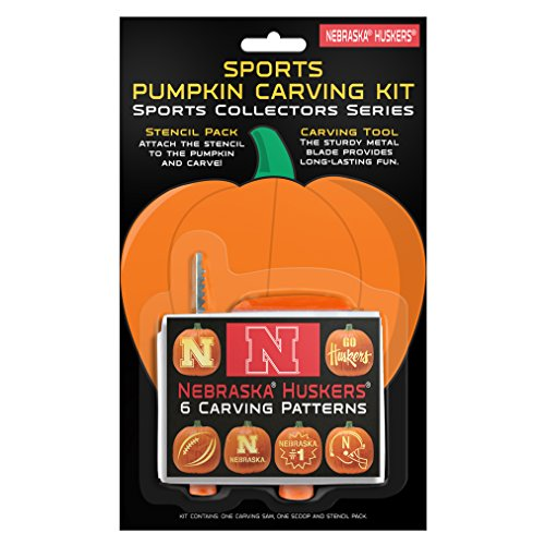 NCAA Nebraska Cornhuskers Pumpkin Carving Kit