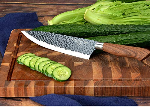 6 Pieces Kitchen Set, Non-stick Professional Chef's Knives by AUIIKIY (Image #5)