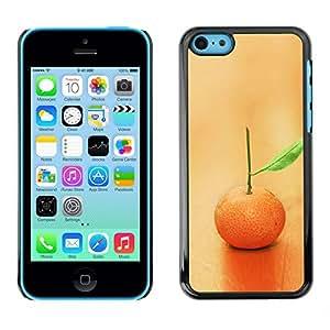 Licase Carcasa protectora - Fruit Macro Lonely Orange - Apple Iphone 5C