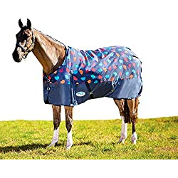 Weatherbeeta Fleece Cooler Standard Neck, Hedgehog Print, 69""